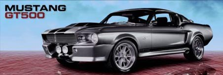 Shelby GT500 - Ford Mustang