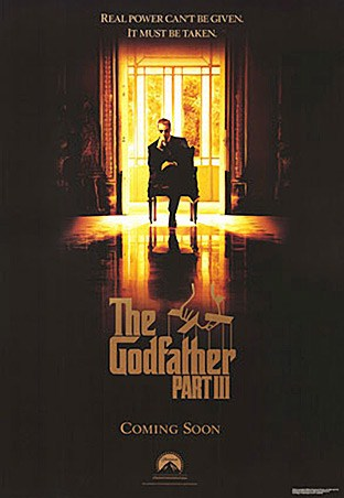 The Godfather Part III - One Sheet Movie Teaser - The Godfather Part III