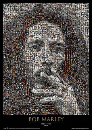 Bob Marley Mosaic - Bob Marley