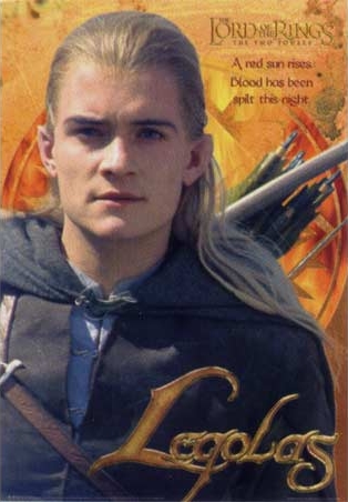 Legolas Red Sun Rises - Lord of the Rings: Two Towers