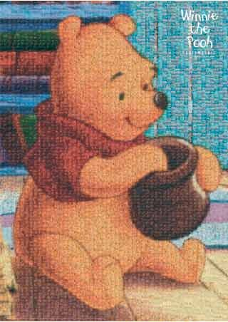 Winnie the Pooh Mosaic - A. A. Milne 's Winnie the Pooh