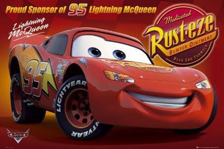 Lightening McQueen - Cars