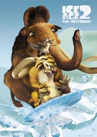 Diego, Manny, Sid & Scrat - Ice Age 2