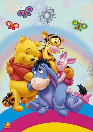 Rainbow Hug - Winnie the Pooh