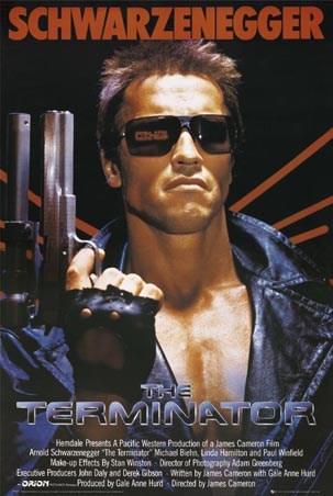 Arnold Schwarzenegger  is The Terminator - The Terminator