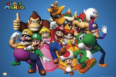 Mario and Cast - Super Mario