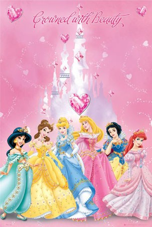 Crowned With Beauty - Disney Princesses