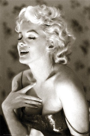 Marilyn Monroe - Glow - Classic & Beautiful B/W Photograph