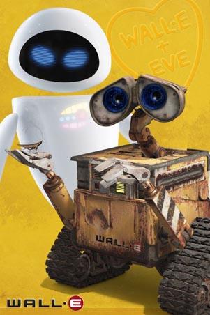 Wall-E and Eve - Disney Pixar's Wall-E