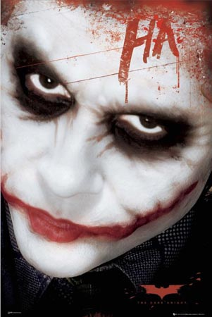 Ha (Close Up of The Joker) - Batman: The Dark Knight