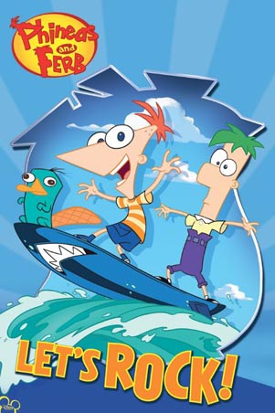 Let's Rock! - Phineas and Ferb