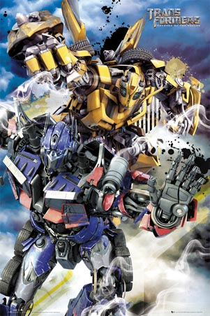Bumblebee and Optimus Prime - Transformers: Revenge of the Fallen