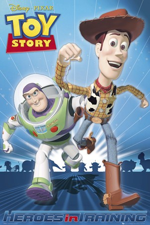 Heroes In Training - Toy Story