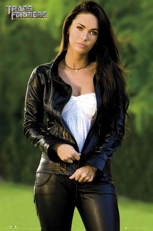 Megan Fox in Leather - Transformers: Revenge of the Fallen
