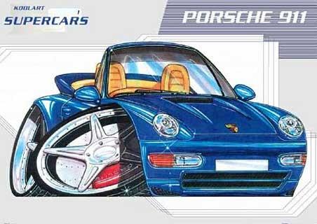 Graffiti Style Porsche 911 - Kool Art Supercars