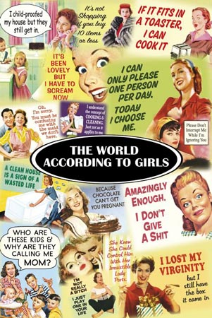 The World According to Girls - Humorous Montage