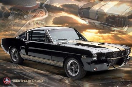 Mustang GT 350 - Ford Shelby