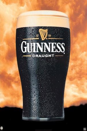Pint of the Black Stuff, Guinness Poster - Buy Online