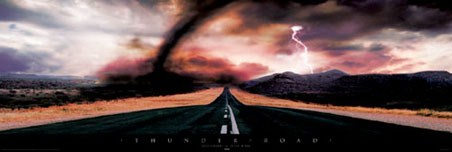 Lightning Strikes and a Tornado Moves - Thunder Road