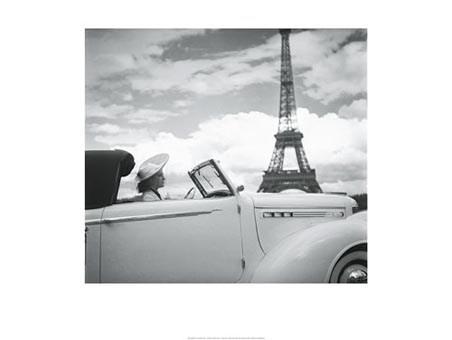 Femme au Volant, Paris 1938 - Roger Viollet Collection