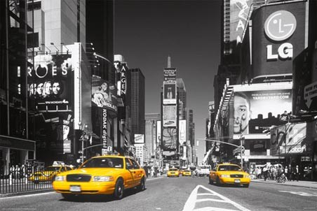 Yellow Cab - In Times Square