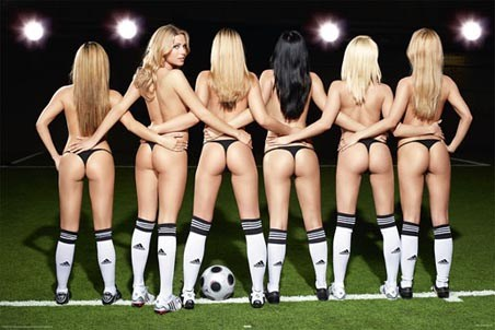 Time for Kick-Off - Football Girls