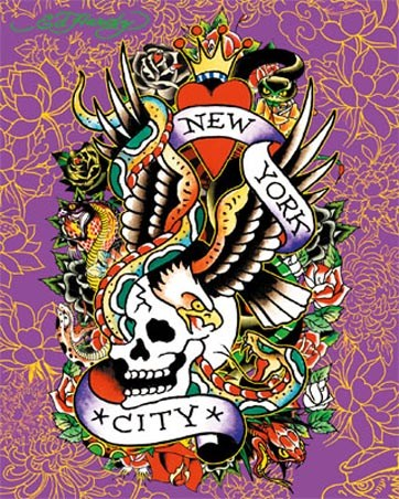 Ed hardy art posters cards buy online at for Buy art posters online