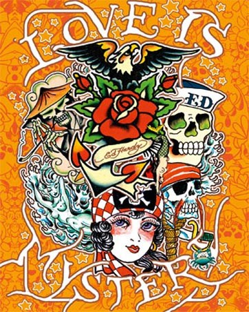 Love is Mystery - Ed Hardy