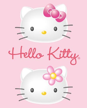 Pink 3D Pair - Hello Kitty