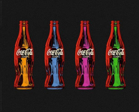 Classic Coke Pop Art - Coca Cola