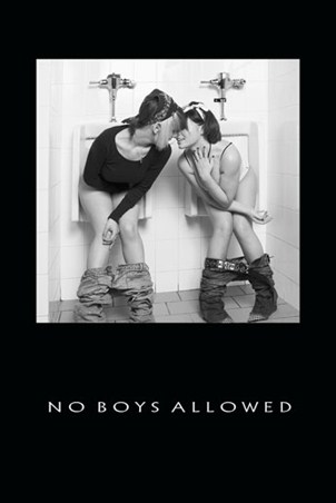 No Boys Allowed - Girls in the Bathroom