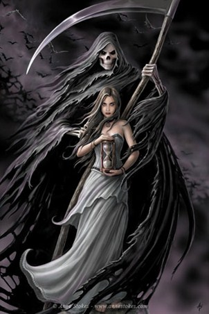 Summoning the Reaper - Anne Stokes