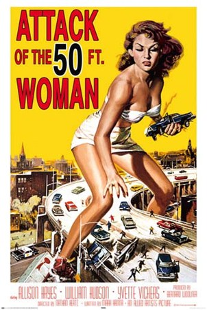 Attack of the 50ft Woman - Movie Score