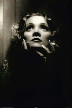 An Icon in Black and White - Marlene Dietrich