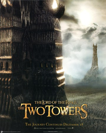 Framed The Two Towers - Lord of the Rings