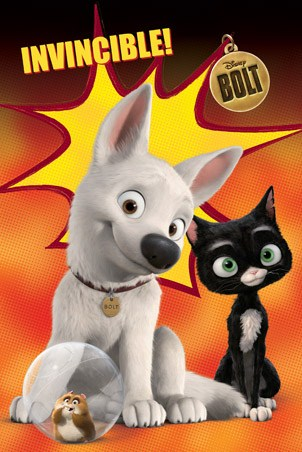 Bolt, Mittens and Rhino - Disney's Bolt