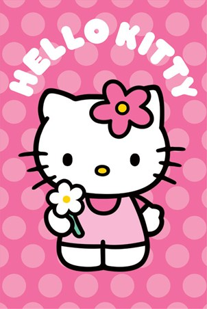 Polka Dots - Hello Kitty