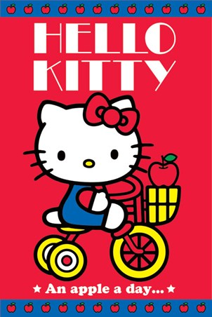 An Apple A Day - Hello Kitty