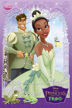 Princess Tiana and Prince Naveen - The Princess and The Frog