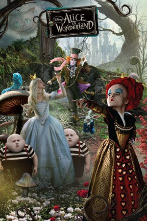 The Fantastical Characters of Wonderland, Tim Burton's ...