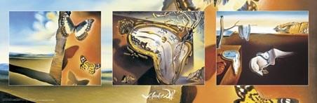 Salvador Dali - Triptych - Salvador Dali