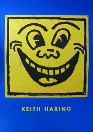 Framed Untitled (Happy Face) - Keith Haring