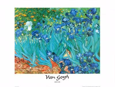 Irises, 1889 - Vincent Van Gogh