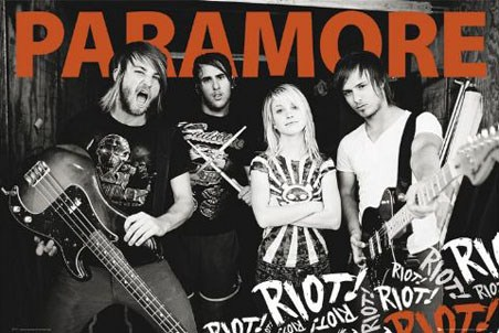 Paramore Group Photo - Paramore