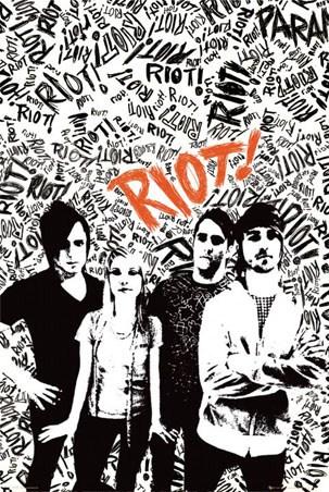 Paramore's Riot! Album Cover Artwork - Paramore