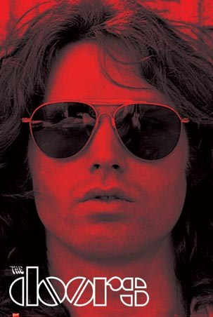 Jim Morrison The Doors Poster Popartuk