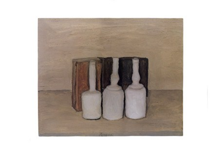 Three Bottles - Giorgio Morandi