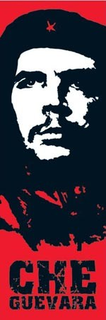 Red Pop Art Portrait - Che Guevara