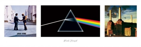 Album Cover Collage Pink Floyd - Pink Floyd