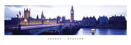 Dusk over Westminster - London